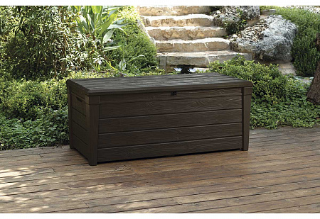 Сундук KETER BRIGHTWOOD STORAGE BOX 455 L