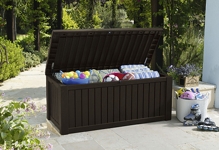 Сундук KETER ROCKWOOD STORAGE BOX 570 L