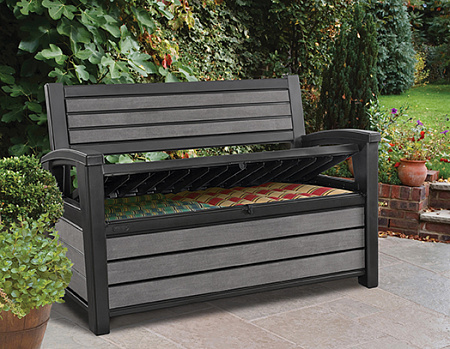 Сундук-скамейка KETER HUDSON STORAGE BENCH